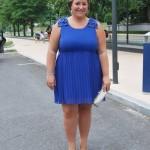 BLUE KLEIN DRESS