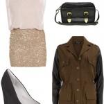 SEQUIN DRESS LOOK