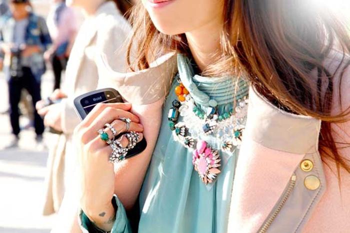 collar joya- street style