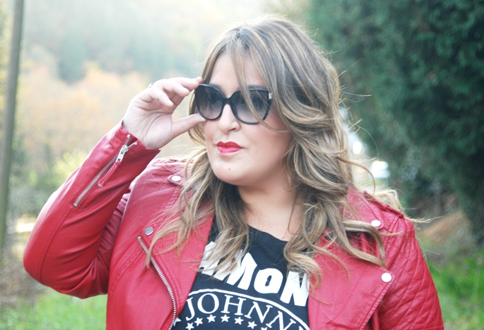 red lips- street style fashion- blogger