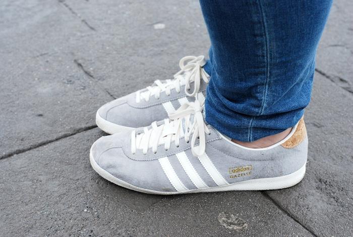 zapatillas gazelle adidas mujer gris